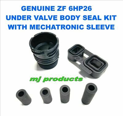 zf 6hp26 OEM valve body seals plus adapter seal block and mechatronic plug