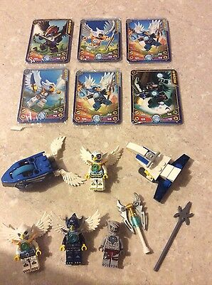 Lego Chima Figures Cards And Instructions