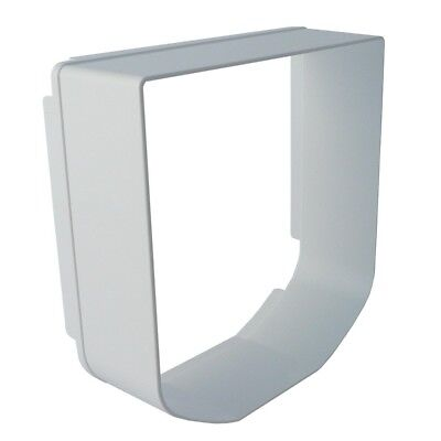 SureFlap Microchip Cat Flap Tunnel Extender In White High Quality Free Delivery
