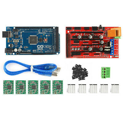 3D Printer Kit Mega 2560 + RAMPS 1.4 + 5X A4988 for Arduino RepRap B1P4