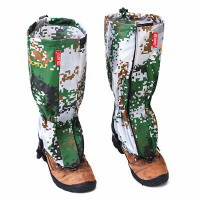 AOTU New Outdoor Camouflage Water-resistant Gaiters Leg Protection Guard L4Y3
