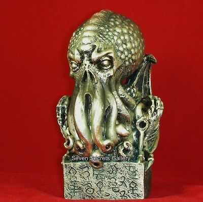 Cthulhu Octopus Figurine after H. P. Lovecraft | Othulhu Statue Sculpture | N/R