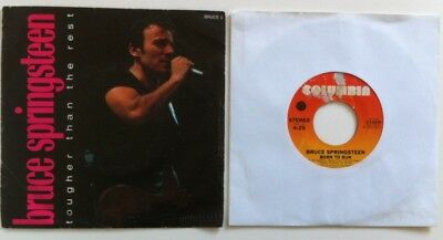 "Bruce Springsteen - Tougher Than The Rest/Born To Run 7"" singles"