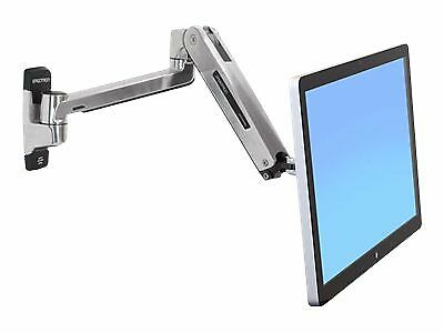 NEW! Ergotron 45-383-026 Lx Hd Sit-Stand Wall Mount Lcd Arm Polished
