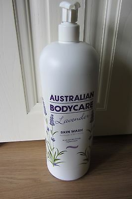 Australian  Bodycare Lavender Skin Wash 1000 Mls ~ New