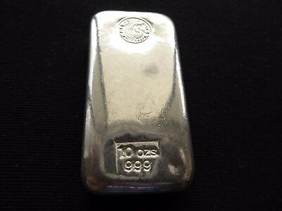 One 10 Ounce Perth Mint Silver Bar
