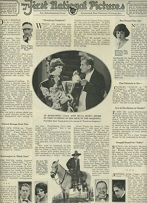 First National Pictures Magazine Ad 1923 Katherine MacDonald Jackie Coogan