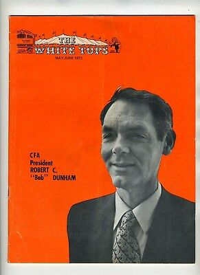 The White Tops Circus Fans Association of America May June 1972 Bob Dunham
