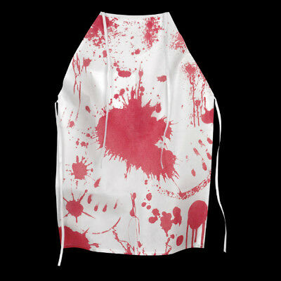Halloween Blood Stained Apron Fancy Dress Costume Accessory Butcher Accessory
