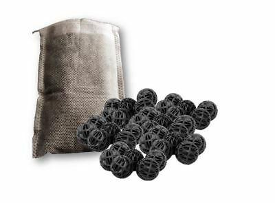 Biological Sponge Fish Tank Filter Aquarium Bio Balls Media Mesh Bag Natural