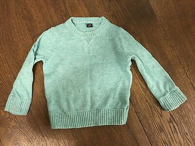 Gap Baby Boys / Girls Green / Light Turquoise Jumper 18-24 Months VGC