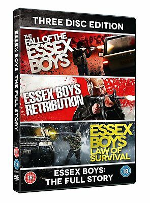 Essex Boys: The Full Story - 20th Anniversary Edition [DVD] New Sealed 3 Discs
