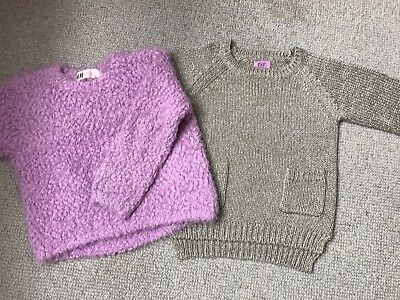 2 Baby Girl Jumpers,H&M,FF Size 12-18,1,5-2