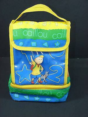 Caillou Insulated Lunch Bag 2 Compartment (2001)