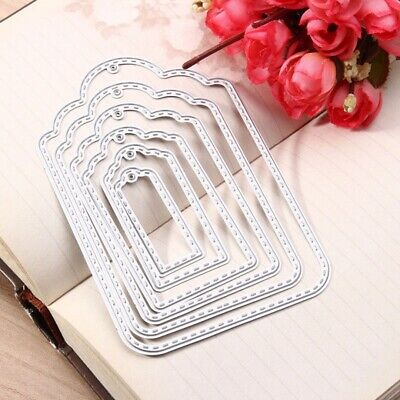 Hang Tag Metal Cutting Dies Stencil DIY Scrapbooking Embossing Album Paper Card