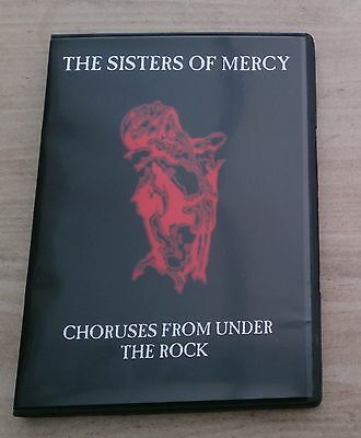 Sisters of Mercy DVD - Choruses From Under The Rock