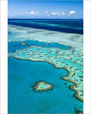 """10""""x8"""" (25x20cm) Print of Great Barrier Reef"""