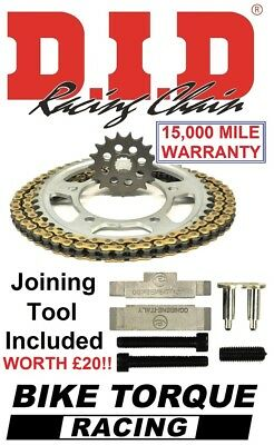 Tool Honda CBX750F E-G 84-86 D.I.D /& JT Chain And Sprocket Kit Set