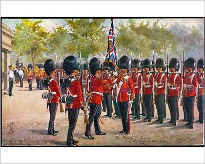 """10""""x8"""" (25x20cm) Print of GRENADIERS MOUNT GUARD from Prints Online"""