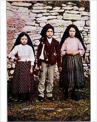 """10""""x8"""" (25x20cm) Print of 3 FATIMA VISIONARIES from Prints Online"""