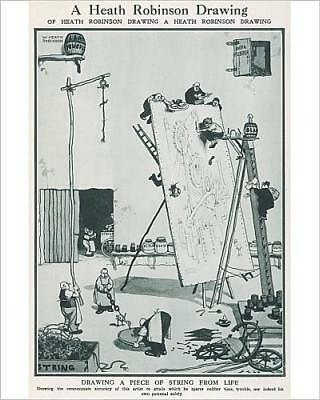 """10""""x8"""" (25x20cm) Print of A Heath Robinson drawing from Prints Online"""