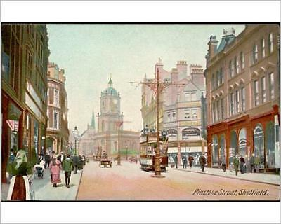 """10""""x8"""" (25x20cm) Print of ENGLAND/SHEFFIELD from Prints Online"""
