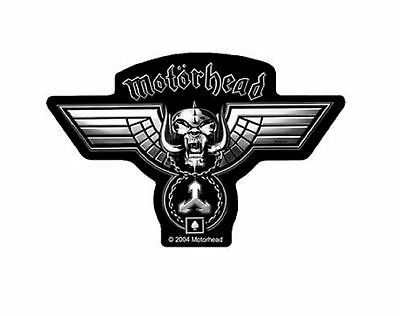 Motorhead Patch Hammered Warpig band Logo Official New Black Cut Out woven