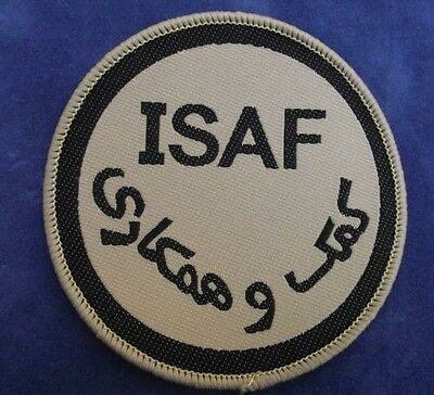 British Isaf Desert /  Trf / Afghan Patch - New