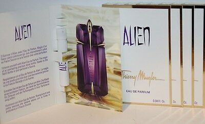 Thierry Mugler Alien EDP Eau de Parfum 5 x 1,2 ml Spray Proben NEU!