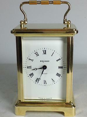 Perfect French Duverdrey & Bloquel - Bayard Corniche case 8 days Carriage clock