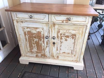 Antique French Painted Kitchen Cupboard purchased 5 years ago from Anthropology