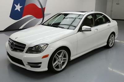 2013 Mercedes-Benz C-Class  2013 MERCEDES-BENZ C350 SPORT SUNROOF HTD SEATS NAV 51K #264503 Texas Direct