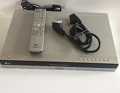 Lg Rh177 Hdd Dvd Recorder With 80Gb Hard-Drive + Remote & Leads