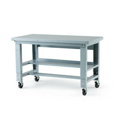 "Height Adjustable Workbench 30"" D x 60"" H"" 1 ea"