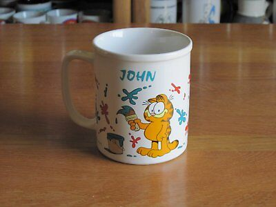 Garfield Ceramic Mug John