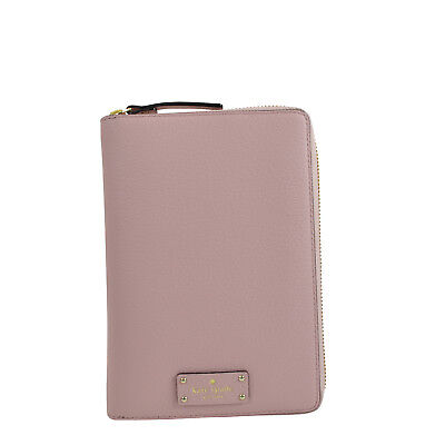 Kate Spade Grove Street Zip Around Personal Planner Organizer in Pink Bonnet