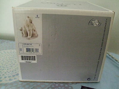 """LLADRO  BOX only  """"Arctic Family""""....  with cert of authenticity sealed inside"""