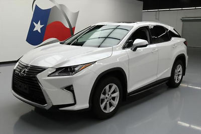 2016 Lexus RX  2016 LEXUS RX350 AWD PREM LEATHER SUNROOF REAR CAM 14K #014684 Texas Direct Auto