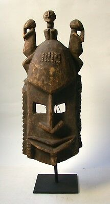 """Vintage Dogon Mask with Stand  """"Great Mask"""""""