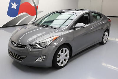 2013 Hyundai Elantra  2013 HYUNDAI ELANTRA LIMITED SUNROOF HTD LEATHER 23K MI #413501 Texas Direct