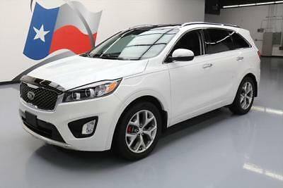 2016 Kia Sorento SX Sport Utility 4-Door 2016 KIA SORENTO SX V6 PANO ROOF NAV HTD LEATHER 36K MI #072812 Texas Direct