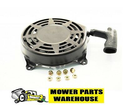 Briggs & Stratton Pull Starter Recoil Assembly 497680 W/ Bolts Fits