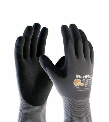 MaxiFlex Ultimate Nitrile Micro-Foam Coated Gloves PIP ATG 34-874 XL XLarge