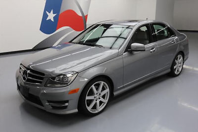 2014 Mercedes-Benz C-Class  2014 MERCEDES-BENZ C250 SPORT TURBOCHARGED SUNROOF 32K #957661 Texas Direct Auto