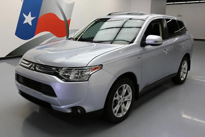 2014 Mitsubishi Outlander GT Sport Utility 4-Door 2014 MITSUBISHI OUTLANDER AWD SPORT GT AWD LEATHER 25K #001504 Texas Direct Auto