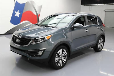 2015 Kia Sportage EX Sport Utility 4-Door 2015 KIA SPORTAGE EX HTD SEATS REAR CAM BLUETOOTH 19K #763943 Texas Direct Auto