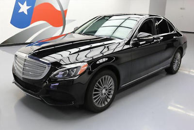 2015 Mercedes-Benz C-Class 4Matic Sedan 4-Door 2015 MERCEDES-BENZ C300 LUX 4MATIC AWD PREMIUM PANO NAV #014026 Texas Direct