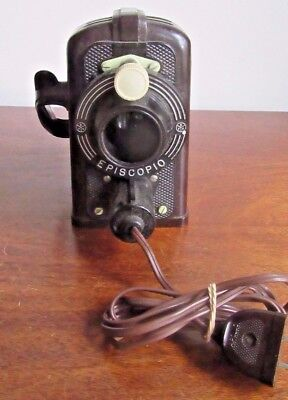 Vintage/Antique Episcopio Projector Made In Brazil