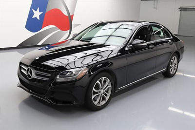 2015 Mercedes-Benz C-Class Base Sedan 4-Door 2015 MERCEDES-BENZ C300 SPORT TURBOCHARGED NAV 31K MI #089651 Texas Direct Auto