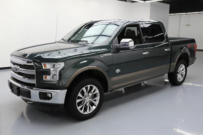 2015 Ford F-150  2015 FORD F150 KING RANCH CREW 5.0 FX4 4X4 PANO NAV 32K #C43950 Texas Direct